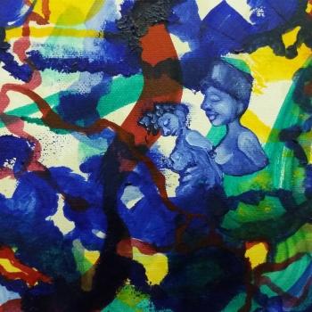 Africa canvas 12