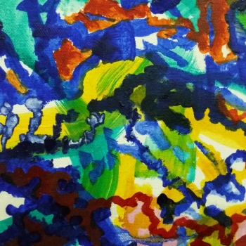 Africa canvas 5
