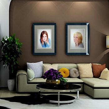 Аутопортрет, Уна, Selfportrait and Una, example