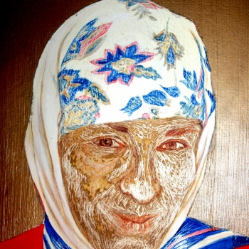 Aутопортрет, детаљ, Self portrait, detail