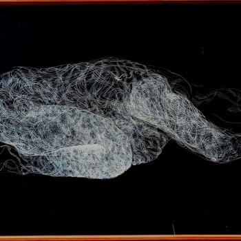 9 Сара 13, туш на папиру, 100х70cm, 2016